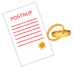 Post Nuptial Agreement San Diego